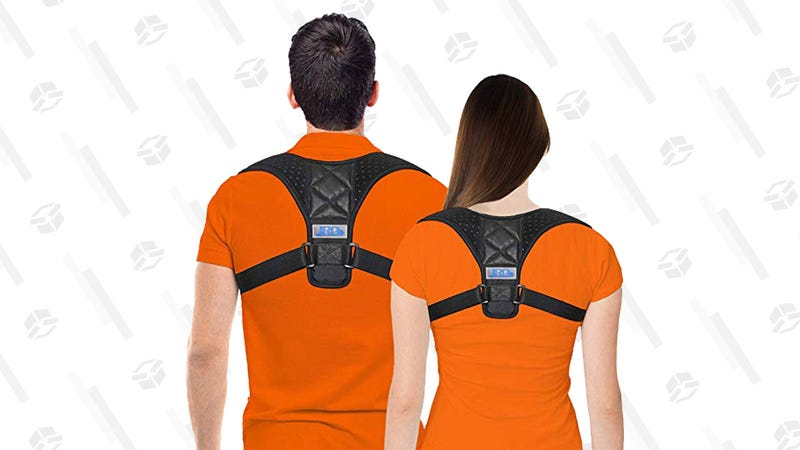 JINRQ Posture Corrector | $11 | Amazon | Clip the 40% off coupon