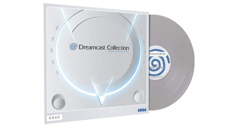 Illustration for article titled Dreamcast Collection Coming To 12 Inches Of Vinyl