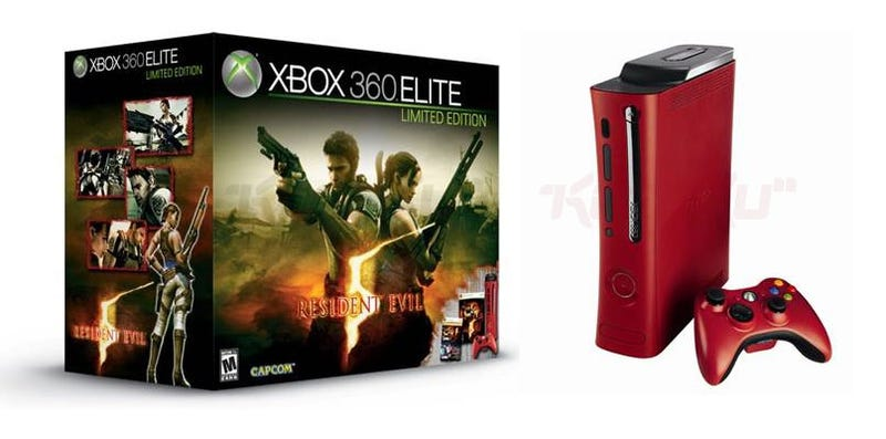 Illustration for article titled Official Picture of Red-Colored Xbox 360