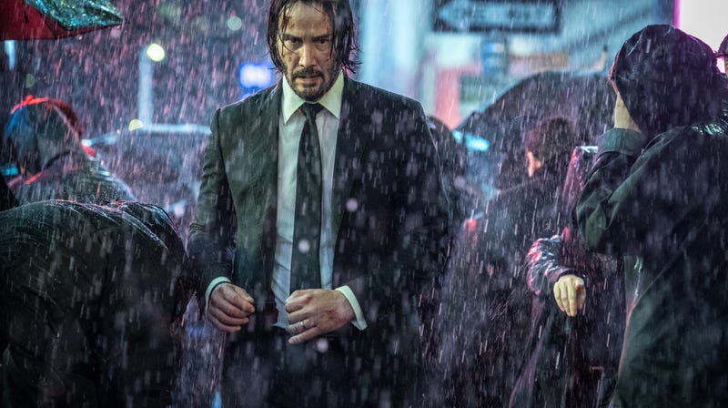 Illustration for article titled John Wick expected to defeat The Avengers this weekend, which sounds about right