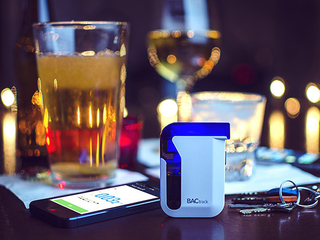 Illustration for article titled Get the BACtrack Mobile Breathalyzer For 60% Off