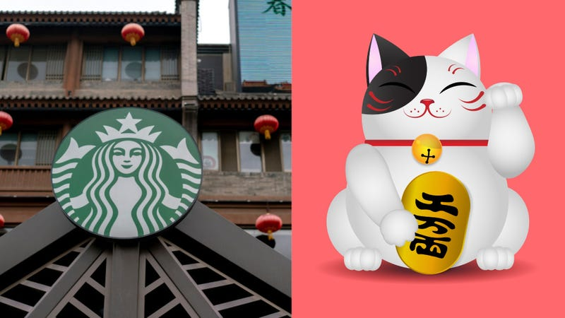 Illustration for article titled The Chinese are getting into fights over a Starbucks cat-paw cup