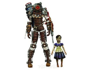 Illustration for article titled BioShock Action Figures Ready To Set Bees Upon Comic-Con