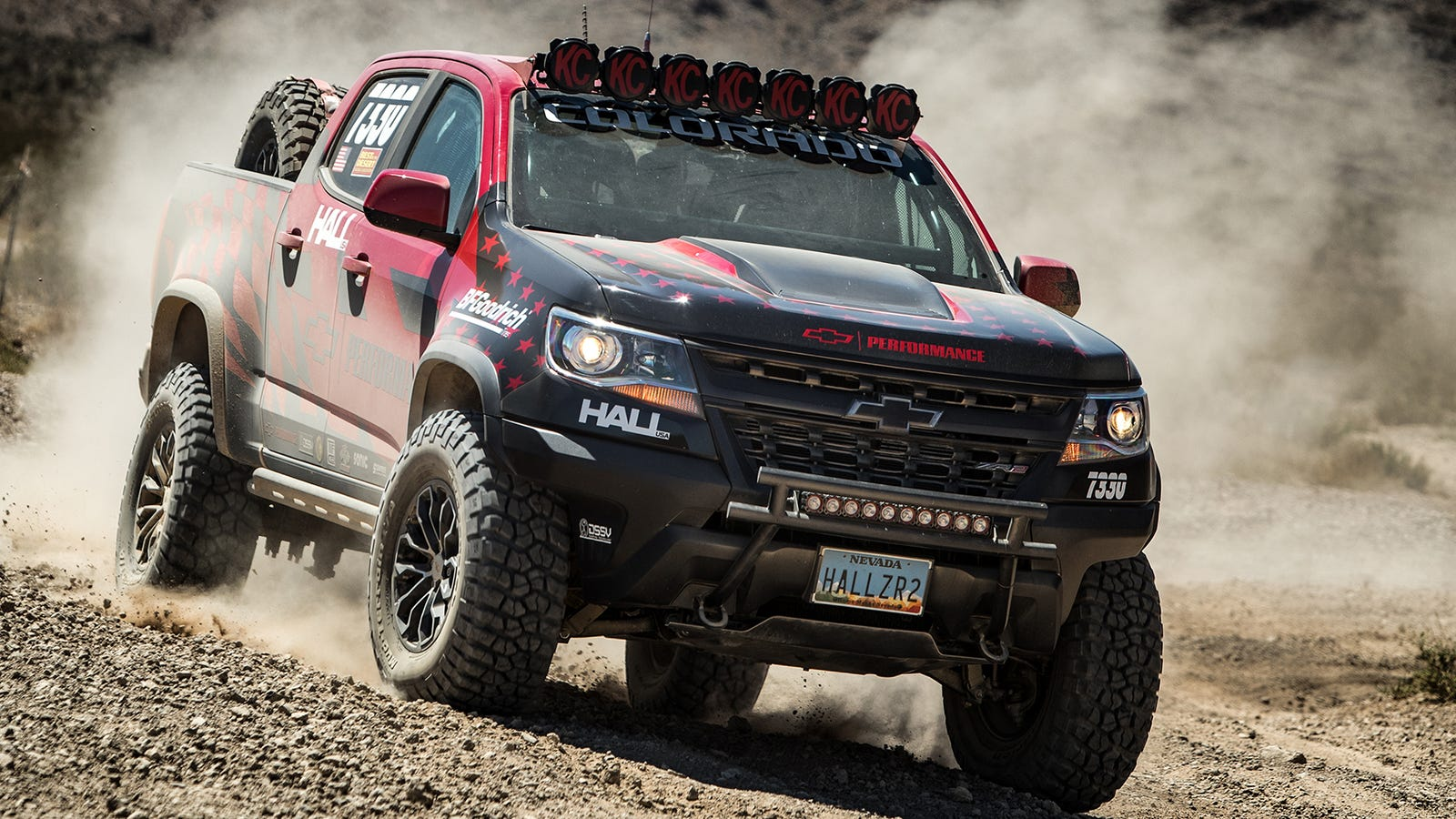 Hell Yeah The Chevy Colorado ZR2 Is Going Off-Road Racing