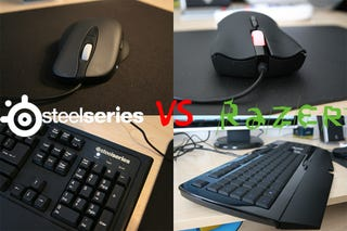 Illustration for article titled Razer vs. SteelSeries PC Gaming Gear Battlemodo: Which One Made Me a Better Gamer?