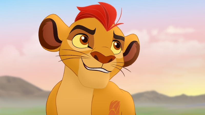 Scene from the television series The Lion Guard, based on Disney's The Lion KingDisney Junior via Getty Images