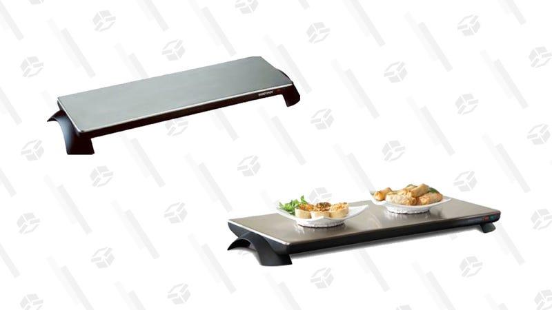 Salton Warming Tray, 3-Plate | $61 | AmazonSalton Warming Tray, 4-Plate | $76 | Amazon | Clip the $3.50 coupon