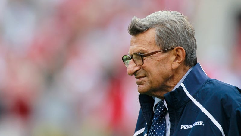 Illustration for article titled Penn State Football Coach Joe Paterno Dies at 85