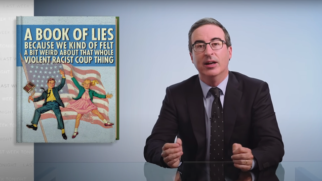 John Oliver schools Americans on their calculatedly whitewashed history curriculum