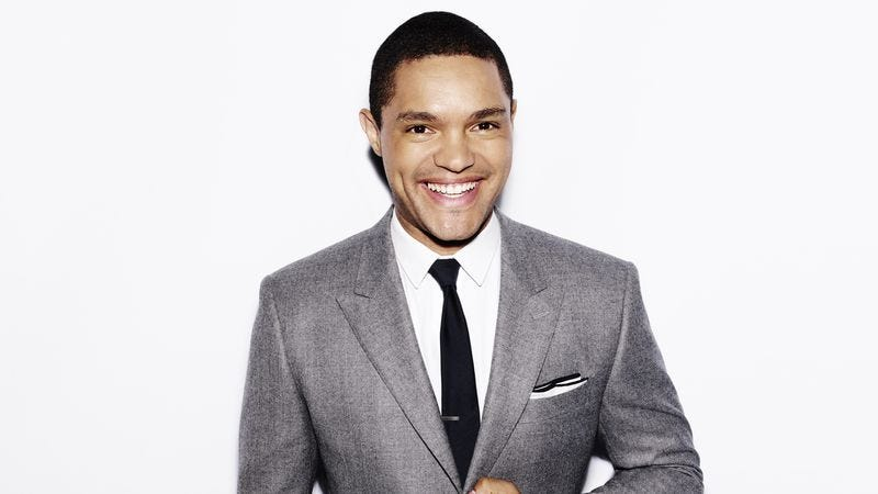 Illustration for article titled Win a pair of tickets to see Trevor Noah live at The Chicago Theatre