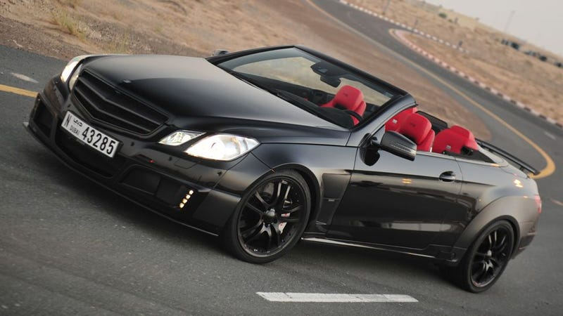 Illustration for article titled There's hoonage under the sun with this 800hp über convertible
