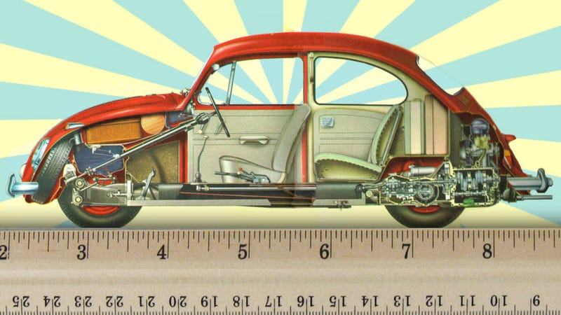 Illustration for article titled Why The VW Beetle Is A Universal Standard Of Weight And Measure
