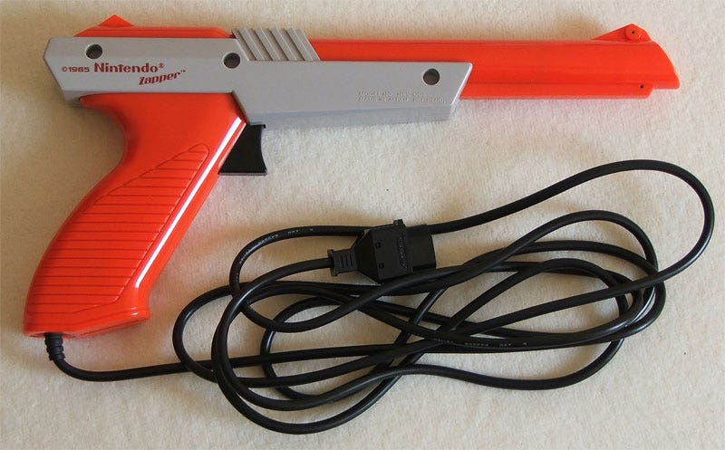 Illustration for article titled Ever Wonder How The Nintendo Zapper Light Gun Worked?