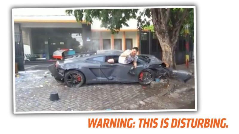 Grisly Video Of Fatal Lamborghini Street Racing Crash Reminds Us Not