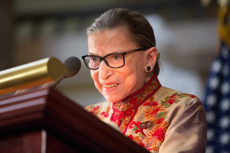 Illustration for article titled Ruth Bader Ginsburg Wins SCOTUS Popularity Contest, Obviously
