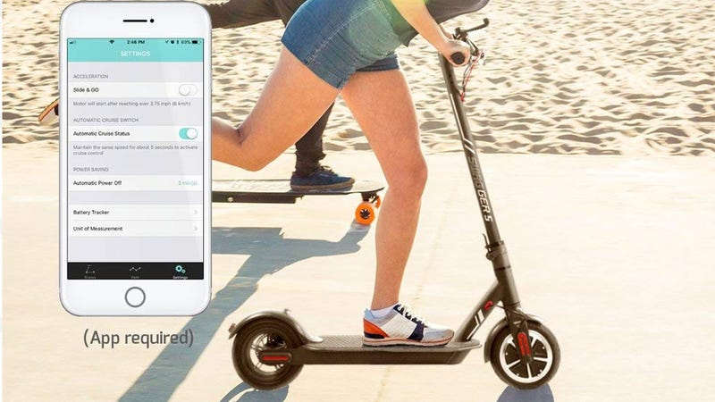 Swagtron City Commuter Electric Scooter inteligente | $271 | Amazon Foto: Amazon