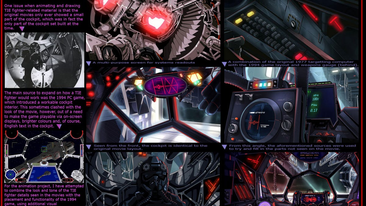 One man spent four years making a homage to the video game tie fighter ccuart Image collections