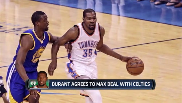 CBS Reports Kevin Durant Signs With Celtics, Is Probably Full O…