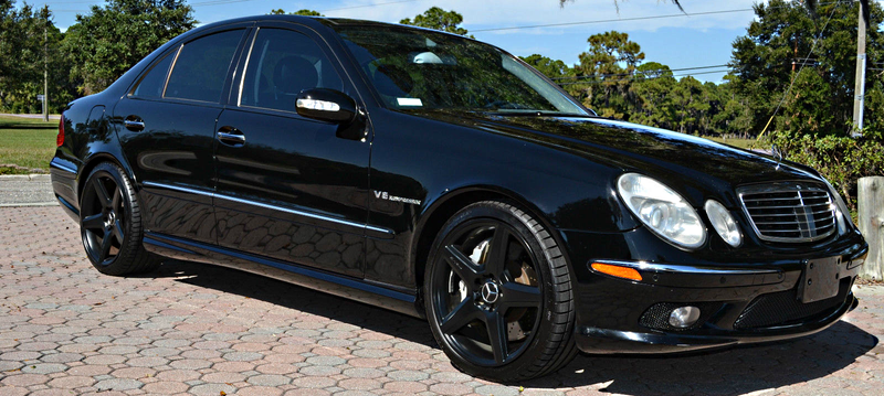 Illustration for article titled You Can Buy This 500 HP Mercedes E55 AMG For The Price Of A Corolla