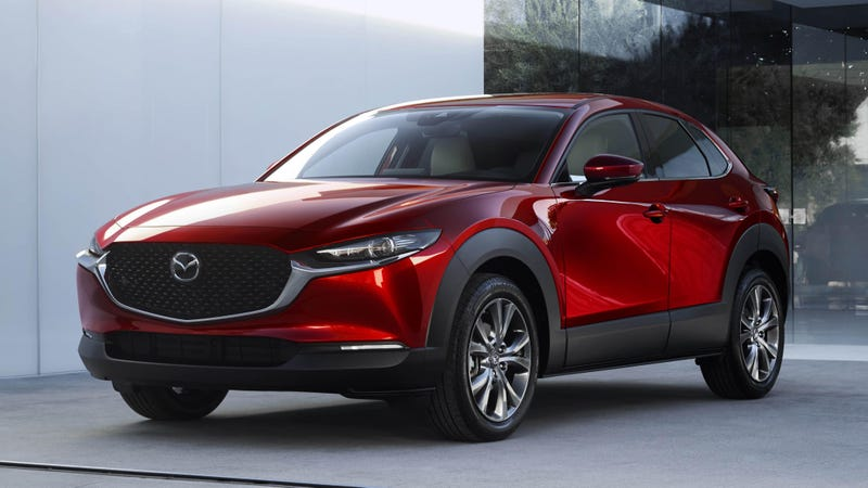 Illustration for article titled Apparently the Mazda CX-30 is coming to the US now