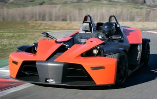 Illustration for article titled More on the KTM X-Bow: Real Photos, Track Testing 101