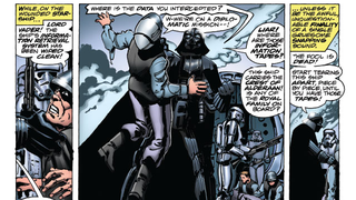 """Illustration for article titled Check Out Marvel's """"Remastered"""" Original Star WarsComic Adaptation"""