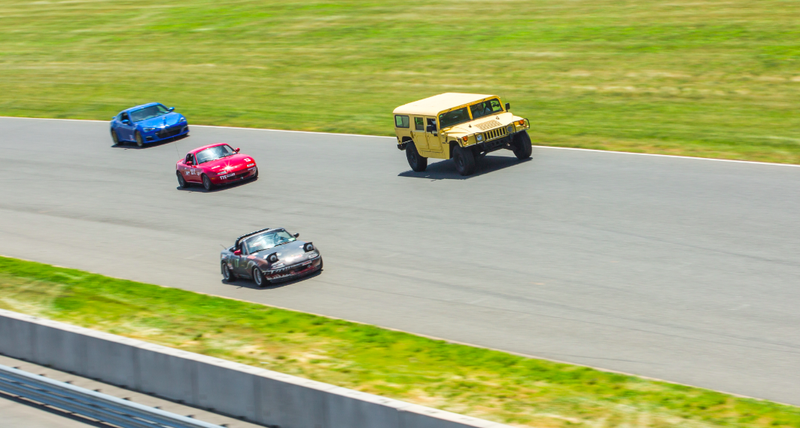 Illustration for article titled I Raced My Hummer On An Actual Race Track