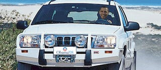 Illustration for article titled Illinois Woman Wants To Sell You Obama's 2000 Grand Cherokee