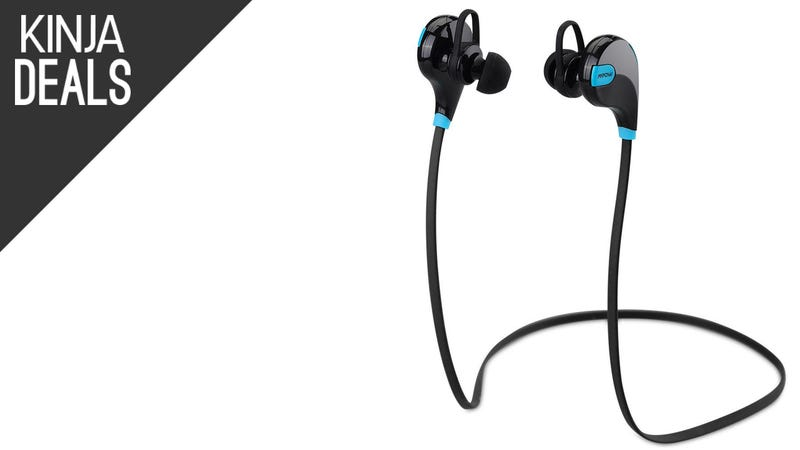 Illustration for article titled Cut The Cord on Your Next Jog with These $22 Bluetooth Earbuds
