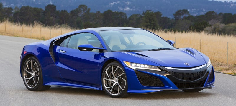 at long last the 2017 acura nsx arrives with a 156 000 price tag. Black Bedroom Furniture Sets. Home Design Ideas