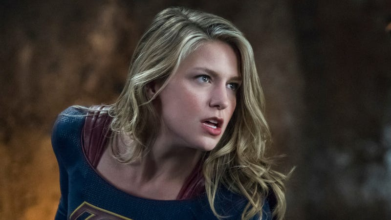 No, she probably won't be played by Melissa Benoist, sadly.