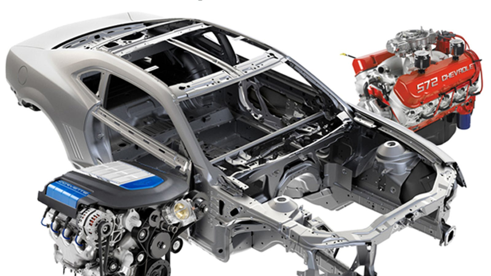 GM Performance Parts To Offer $7,000 Body-In-White New Camaro