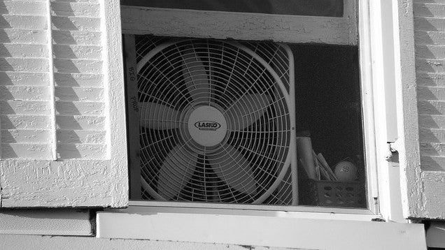 Fan That Blows Cold Air >> Keep Your Room Cool at Night by Facing Your Fan Out, Not In