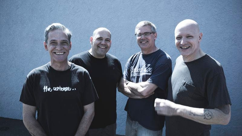 Descendents, Aukerman second from right (Photo: Kevin Scanlon)