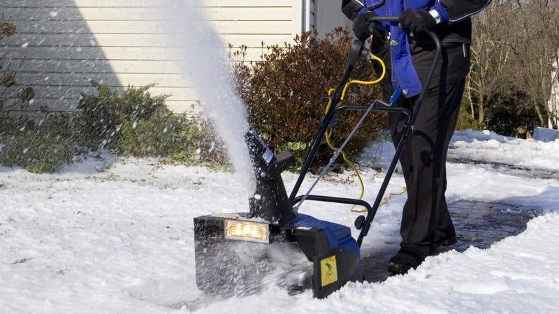 "Snow Joe 18"" Electric Snow Thrower, $136"