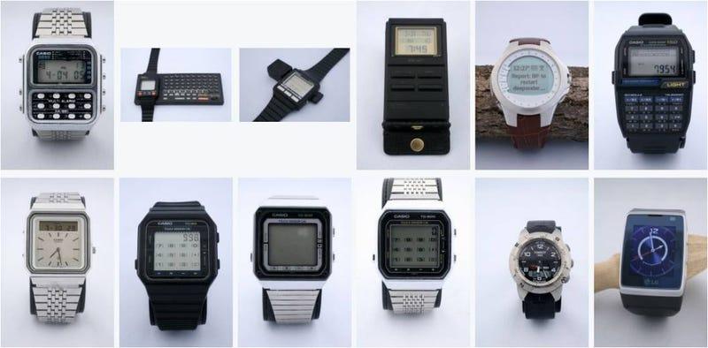 Illustration for article titled 37 años de historia de relojes inteligentes