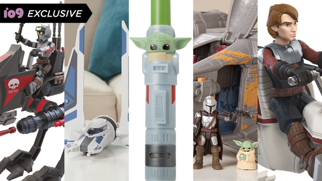 New Star Wars Toys From Hasbro Turn Baby Yoda Into a Lightsaber, and More