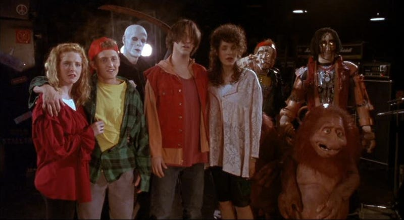 A most excellent still from Bill & Ted's Bogus Journey.