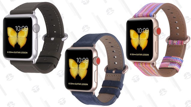 AirPower Is Dead, But Style Is Not. Take Your Pick of Leather Apple Watch Bands For Just $7.