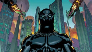 Cover of Marvel Comics' latest edition of Black Panther, penned by sociopolitical writer Ta-Nehisi CoatesMarvel Comics
