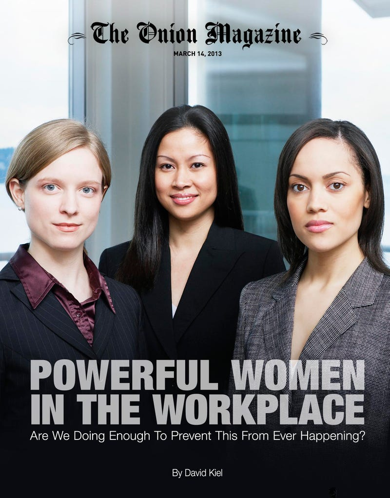 Illustration for article titled Powerful Women In The Workplace: Are We Doing Enough To Prevent This From Ever Happening?
