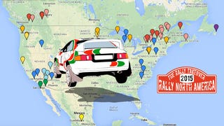 Where's Rally? A Map of All 2015 North American Stage Rallies
