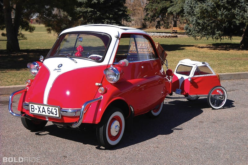 Illustration for article titled The BMW Isetta is Coming Back