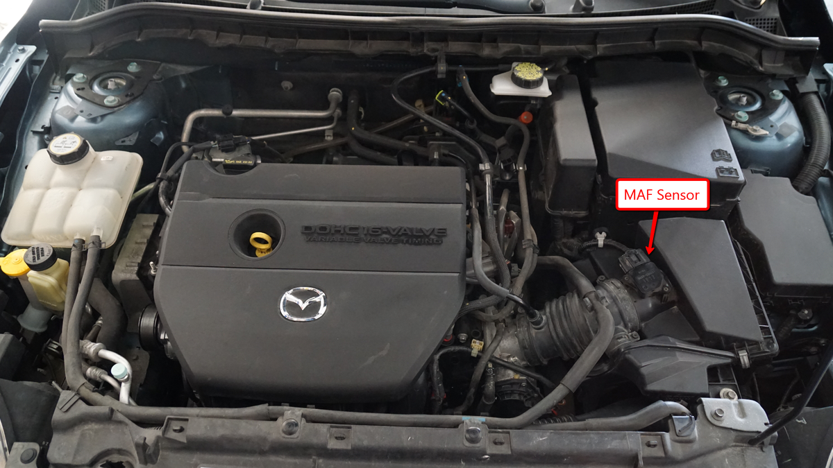 Heres How To Do A Tune Up On Modern Gasoline Car 2005 Mazda 3 Map Sensor Location