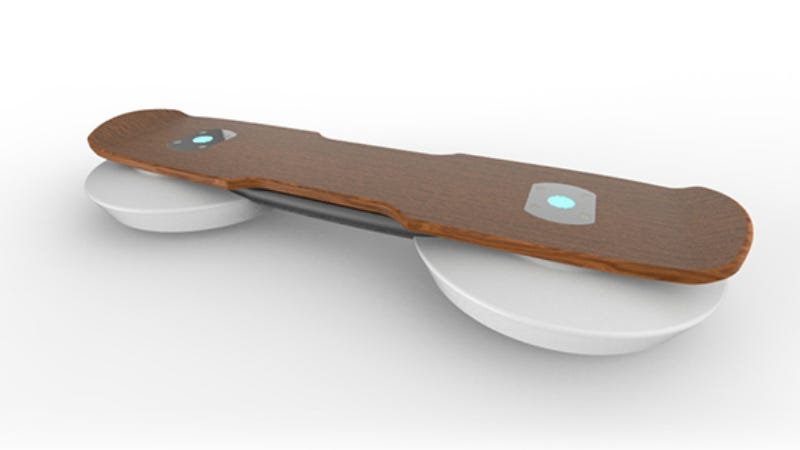 Illustration for article titled Hendo 2.0: Tony Hawk HelpedDesigna New Hoverboard That Actually Hovers