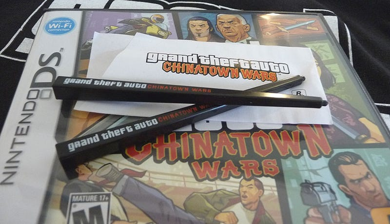 Illustration for article titled Rockstar Delivers With Custom GTA: Chinatown Wars Styli