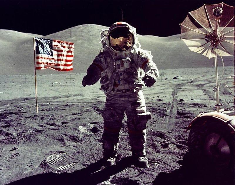 Illustration for article titled La verdadera historia del Apolo 17... y por qué nunca volvimos a la Luna