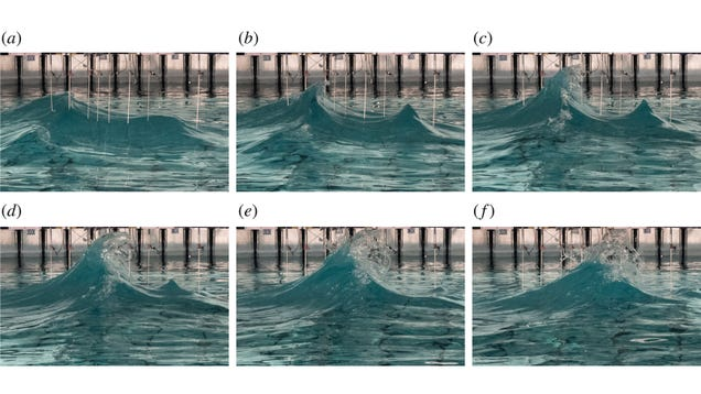 Scientists Try to Recreate Freakishly Tall  Rogue  Waves in the Lab