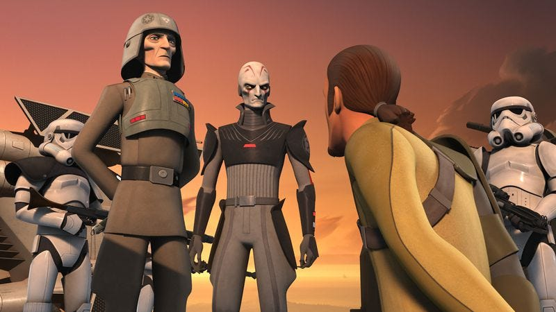 """Illustration for article titled Star Wars Rebels: """"Call To Action"""""""