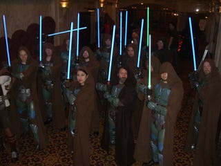 Illustration for article titled Scotland's Same-sex marriage Law could allow Jedi Knights to marry people